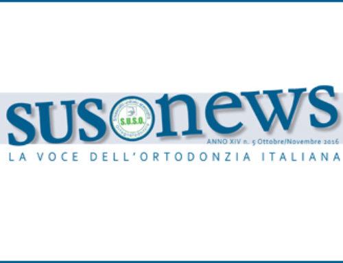 Articolo su SMOF Italia sul Giornale del Sindacato Unitario Specialità Ortognatodonzia
